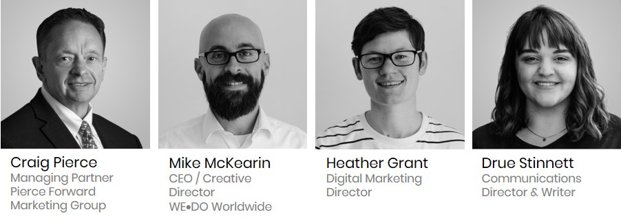 QUAD Model Facilitators - Craig Pierce, Mike McKearin, Heather Grant, Drue Stinnett